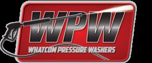 Whatcom Pressure Washers logo